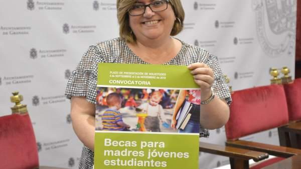 La concejal de Igualdad de Granada, Ana Muñoz.