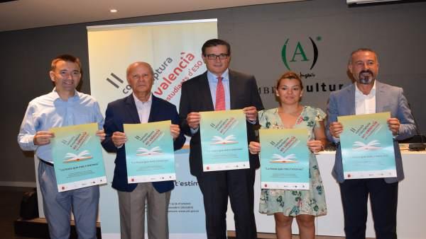 L'AVL convoca el II concurs escolar d'escriptura en valencià