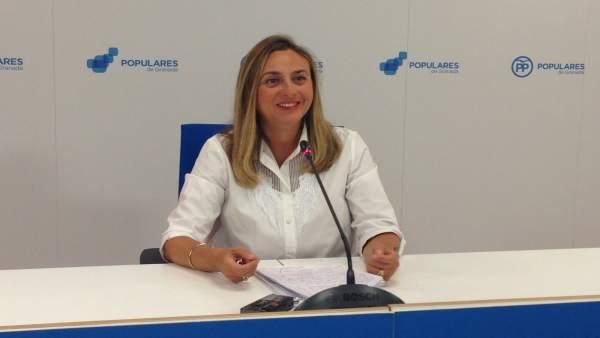 La portavoz de Educación del PP Andaluz, Marifrán Carazo