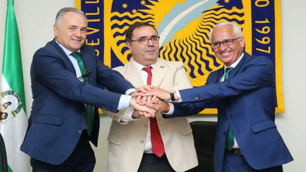 El Real Beitis renueva su colaboración con la UPO