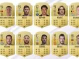 Top 10 valoraciones FIFA 19