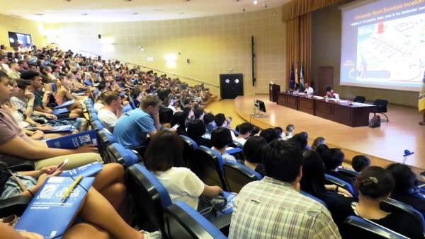 Estudiantes extranjeros en la UPO