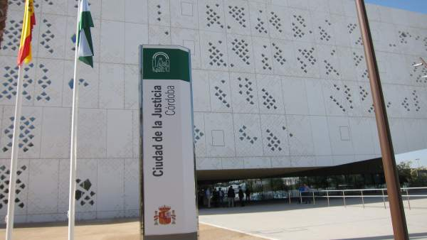 Fachada Norte de la Ciudad de la Justicia de Córdoba