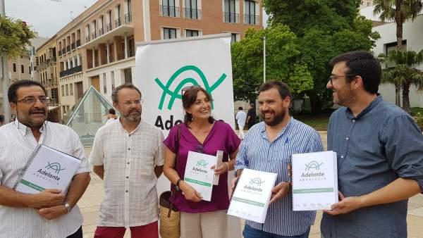 Presentación de Adelante Andalucía en Málaga