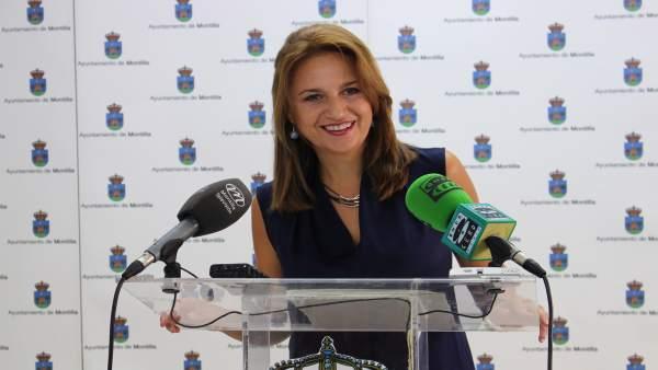 La teniente de alcalde de Hacienda del Ayuntamiento de Montilla, Ana Rodríguez