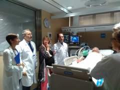 Nueva UCI del Hospital Vall d'Hebron de Barcelona.