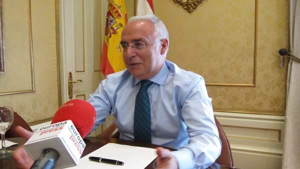 Presidente riojano José Ignacio Ceniceros