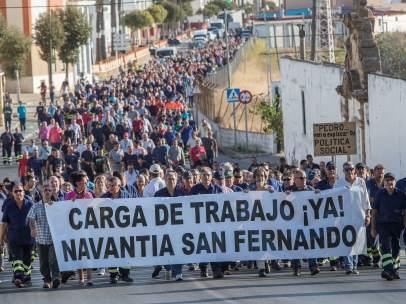 Protestas Navantia
