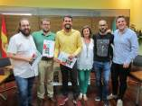 Presentación de Dinamo, foro de arte urbano en Piornal