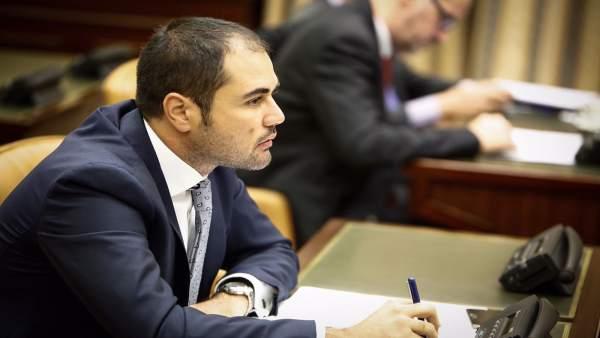 Rodrigo Gómez, diputado de Cs