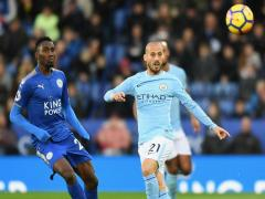 David Silva en el Manchester City - Leicester City
