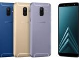 Samsung Galaxy A6 y A6+