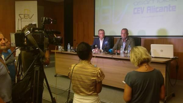 Respaldo a la candidatura de Perfecto Palacio a la candidatura de CEV Alicante