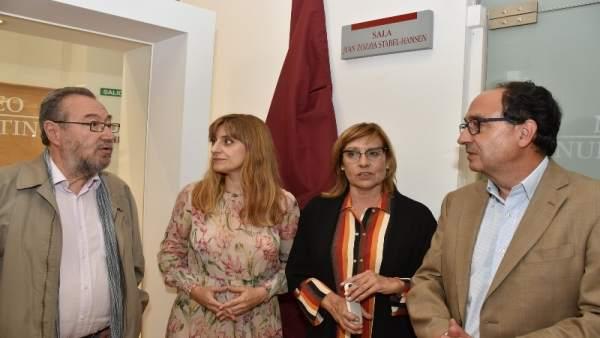 Inauguración de la placa de homenaje a Juan Zozaya. 13-9-2018