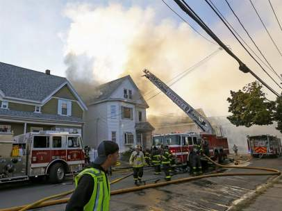 Explosiones de gas en torno a Boston