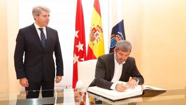 Los presidentes de Canarias y de Madrid