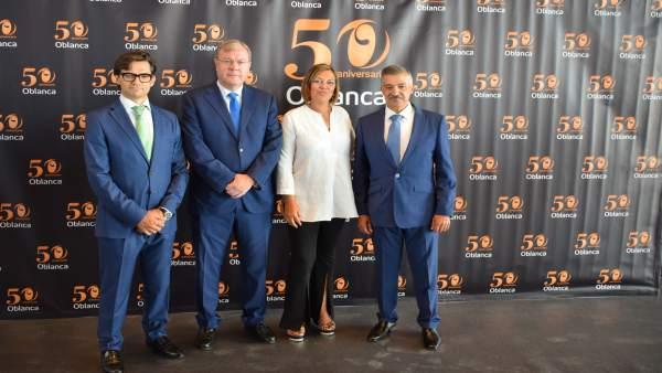 Marcos y Silván en el 50 aniversario de Oblanca 14/9/2018