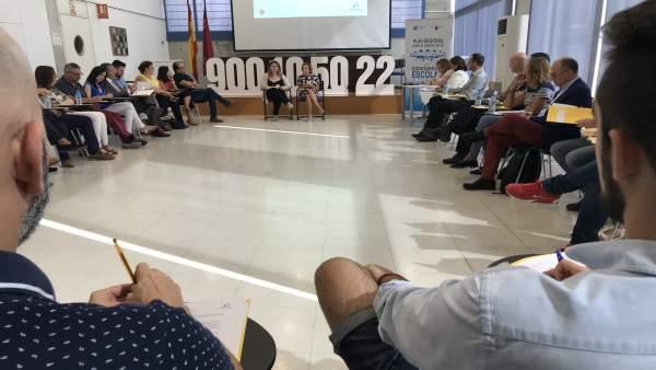 Martínez-Cachá preside el Pleno del Observatorio para la Convivencia Escolar