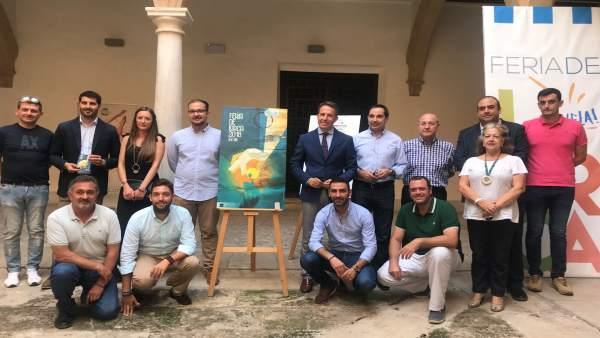 Presentación de a Feria de Lorca