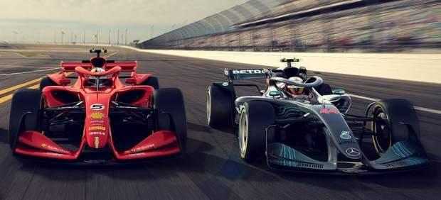 Así serán los futuristas Fórmula 1 a partir de 2021