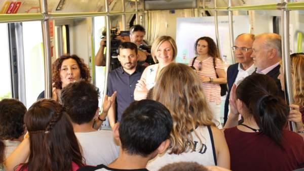 Metrovalencia i TRAM d'Alacant i Castelló, gratis el 22 de setembre