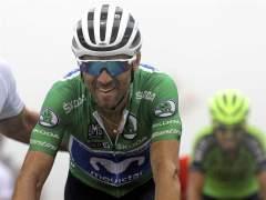 Alejandro Valverde, en La Vuelta 2018.