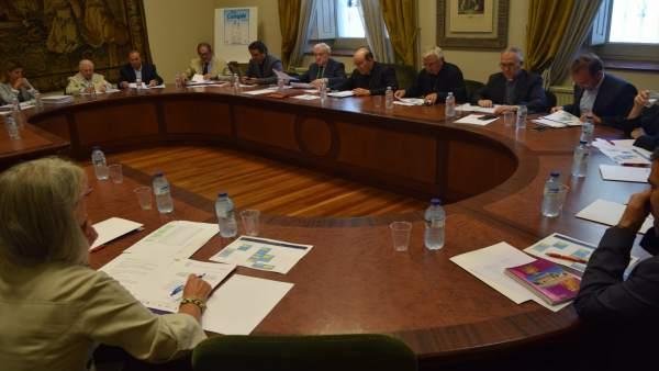 Imagen de la reunión, 14-9-18