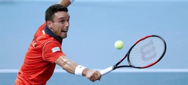Bautista cae ante Pouillon y España está al borde de la eliminación en la Copa Davis