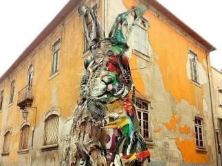 Un conejo en Lisboa