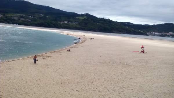 Playa en Urdaibai