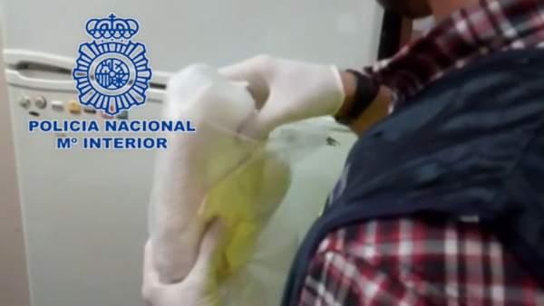 Nota De Prensa: 'La Policía Nacional Desarticula En Benidorm Un Punto Negro De V