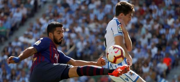 El Barça remonta en Anoeta y sigue contando sus partidos por victorias