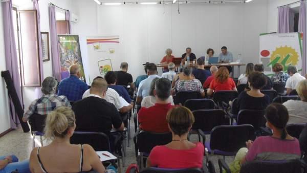 Reunión de la Coordinadora Provincial de IU Huelva