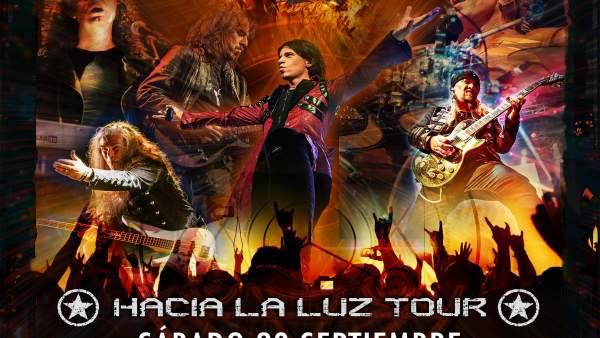 Cartel del concierto de Avalanch en Pamlona
