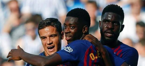 Dembélé iguala sus registros anotadores de la temporada pasada