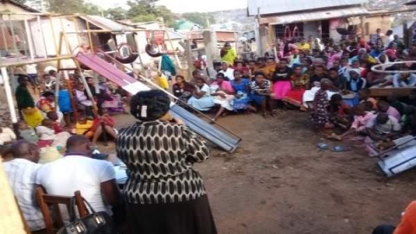 Charla informativa en Tanzania
