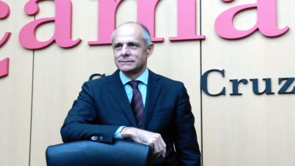 El presidente de la Cámara de Tenerife, Santiago Sesé