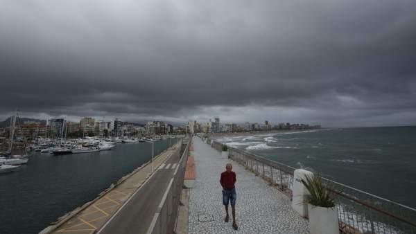 Mal tiempo en el área mediterránea