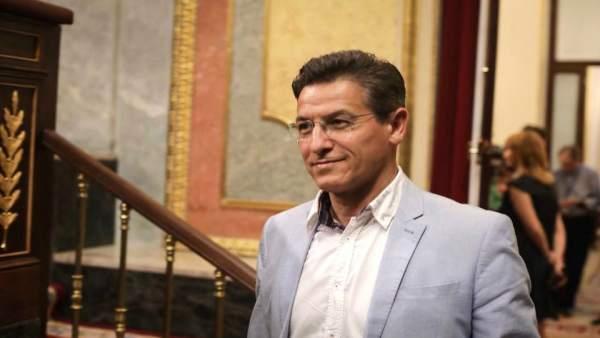 El diputado Luis Salvador