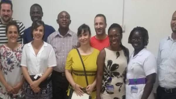 Profesionales del Hospital San Juan de Dios viajan a Ghana