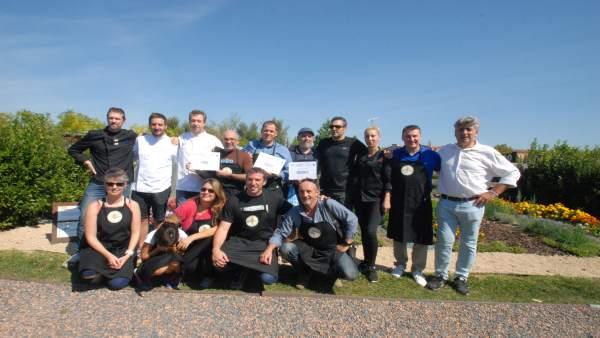 Ganadores y participantes del Reto Culinario Biochef