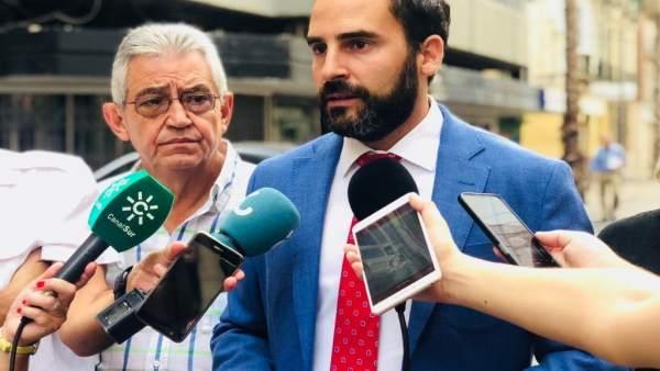 Daniel Pérez, Portavoz municipal del PSOE de Málaga