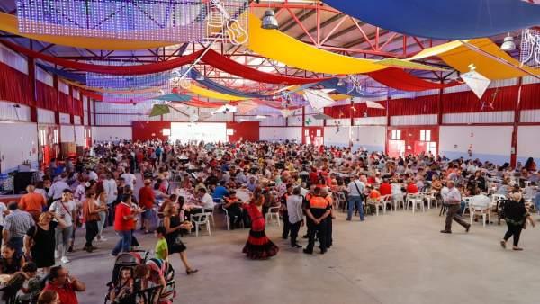 Huétor Tájar recauda más de 3.500 euros con una paella gigante