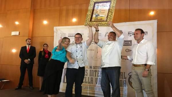 El restaurante Bon Aire gana el Concurso de Paellas de Sueca en 2018