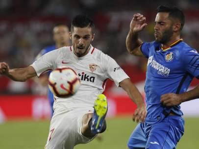 Pablo Sarabia y Bruno