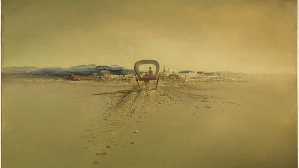Salvador Dalí. 'Carreta fantasma' (1933)