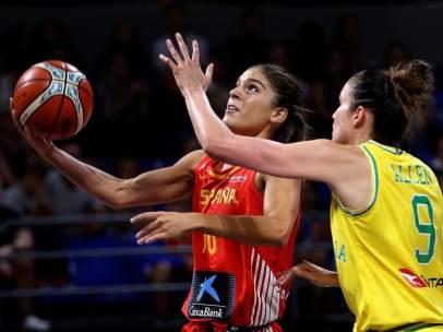 Preparatorio para el Mundial de baloncesto femenino