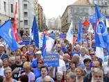 Protesta en Hungría