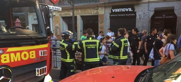 La explosión del portátil de una pasajera provoca el caos en el metro de Madrid