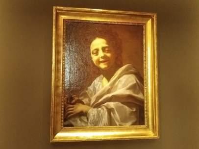 'Retrato de niña con paloma'